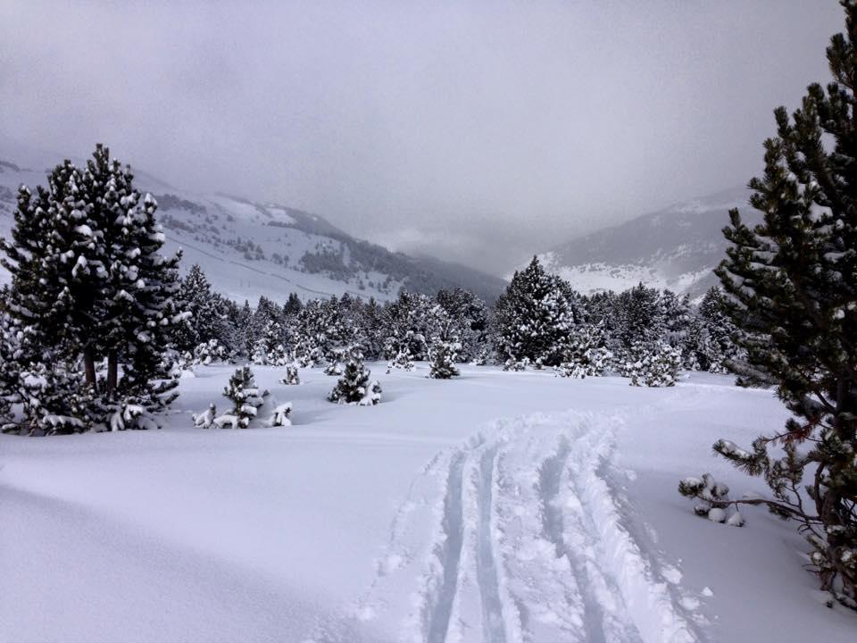 Neu a les cotes altes de Grandvalira aviat podrem esquiar i ja ens podeu contractar per la treta de neu