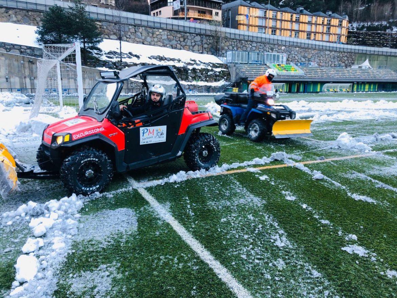 Treta de Neu perquè El FC Andorra vol derrotar el València Mestalla per tornar a la zona de play-off